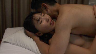 黒髪美女な韓国人セーヒちゃんが正常位SEXしている画像