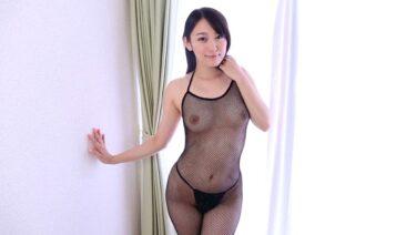人気AV女優の西野翔ちゃんがヌードイメビで全身網タイツを着用しているエロ画像