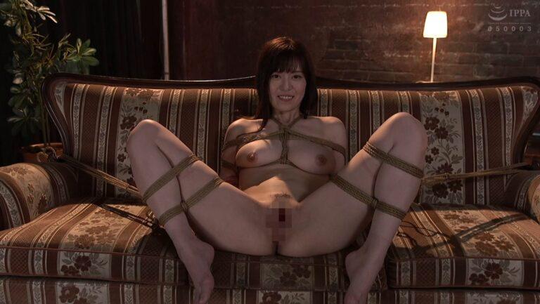 人気AV女優・七瀬いおりちゃんが「緊縛解禁M覚醒」で朝罠で芸術的に縛れているエロ画像