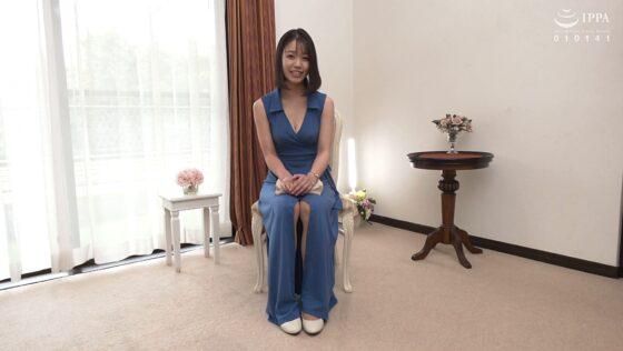 藍川美穂さんが出演した「初撮り人妻ドキュメント」の冒頭シーン