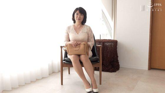 三沢蘭さんが出演した「初撮り五十路妻ドキュメント」の冒頭シーン