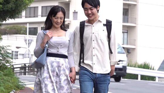 平岡里枝子さんが出演した「たびじ 母と子のふたり旅」のラストシーン