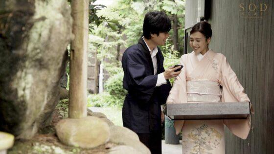 古川いおりちゃんが出演した「あなた・・・うちの旅館が繁盛しているのは私が中出し接待してるからなの」のラストシーン
