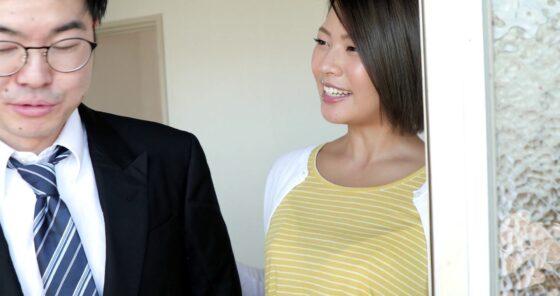 今井夏帆が出演した「上司の奥様を孕ませ中出しレ×●」の冒頭シーン