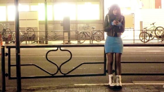 いちかちゃんが出演した「【超ロ●可愛い美少女】21歳【えげつないエロさ】」の冒頭シーン
