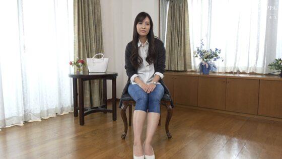 河越留美子 四十歳が出演した「初撮り人妻ドキュメント」の冒頭シーン