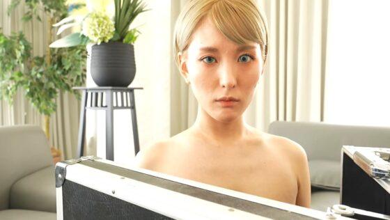 朝比奈祐未が出演した「AI HINA」の冒頭シーン