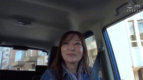 隆子(仮)が出演した「日帰り温泉 熟女色情旅 #019」の冒頭シーン