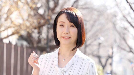 和泉亮子が出演した「初撮り五十路妻ドキュメント」の冒頭シーン