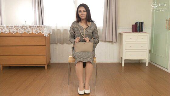 立川杏子が出演した「初撮り人妻ドキュメント」の冒頭シーン