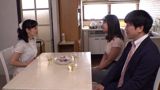平岡里枝子が出演した「義母の隣に寝たあの日から・・・」の冒頭シーン