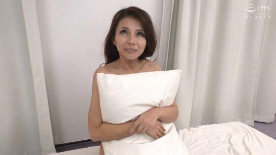立川杏子が出演した「初撮り人妻、ふたたび。」のラストシーン
