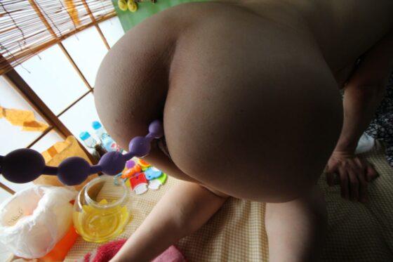 「母乳2穴屋 ミルクとアナル 俺の嫁は母乳を吹き出しながらアナルでイきまくる女だった件 みのり34歳」のラストシーン