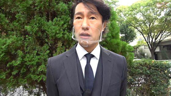 慶子さんが出演した「美しき婦人 高額ギャラナンパで姦通」の冒頭シーン