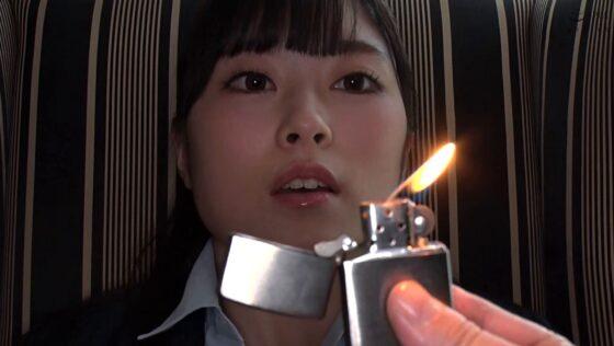 伊藤かえでが出演した「【配信専用】【妄想主観】憧れの会社の同僚を催淫洗●」の冒頭シーン