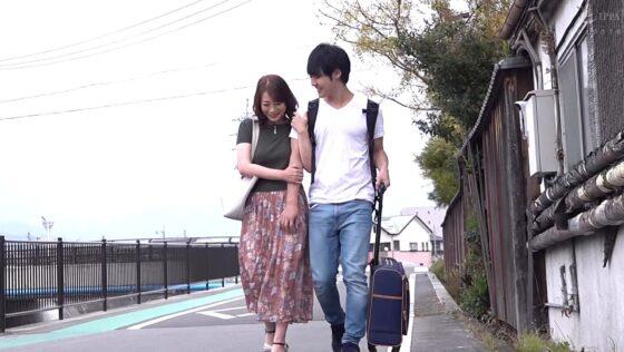 佐倉由美子が出演した「たびじ 母と子のふたり旅」のラストシーン