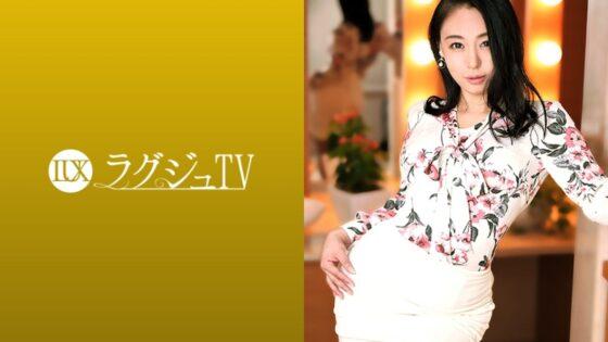 柴崎由美が出演した「ラグジュTV 1384 「日本を旅立つ前に経験したくて…」寝取られ希望の会長婦人」のジャケット