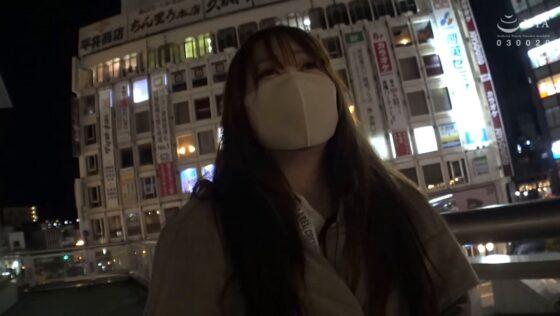 奈緒子(仮)が出演した「日帰り温泉 熟女色情旅 #022 32歳 離婚1回」のラストシーン