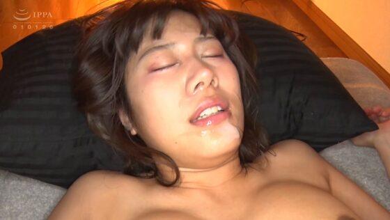 志木あかねが出演した「真性メンヘラ女子に中出し」のラストシーン