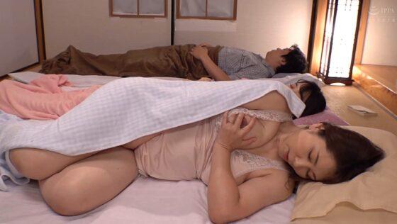 翔田千里が出演した「義母の隣に寝たあの日から・・・」の冒頭シーン