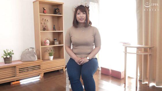 徳山莉乃が出演した「初撮り人妻ドキュメント」の冒頭シーン