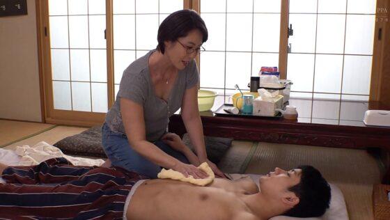 京野美沙が出演した「母の愛情」の冒頭シーン