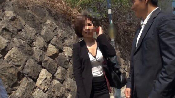 韓国人の若妻ソアさんが出演したAVの冒頭シーン