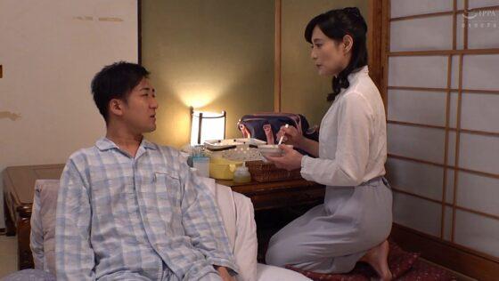 平岡里枝子が出演した「母の愛情」の冒頭シーン