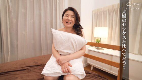 石橋あきほが出演した「初撮り人妻ドキュメント」のラストシーン