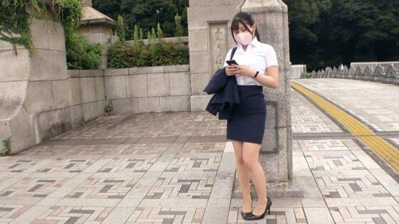 「【おさぼりOL】【マスク美人】さくらちゃん参上!!」の冒頭シーン