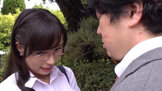 真木今日子が出演した「憧れの女上司と」のラストシーン