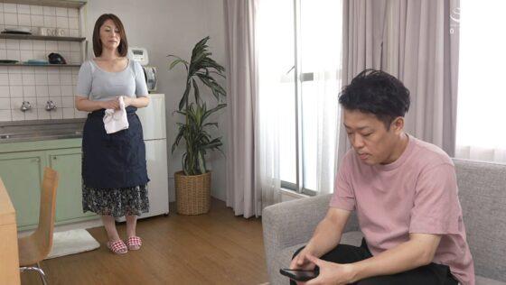 翔田千里が出演した「我が家の美しい姑」の冒頭シーン